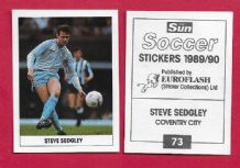 Coventry City Steve Sedgley 73
